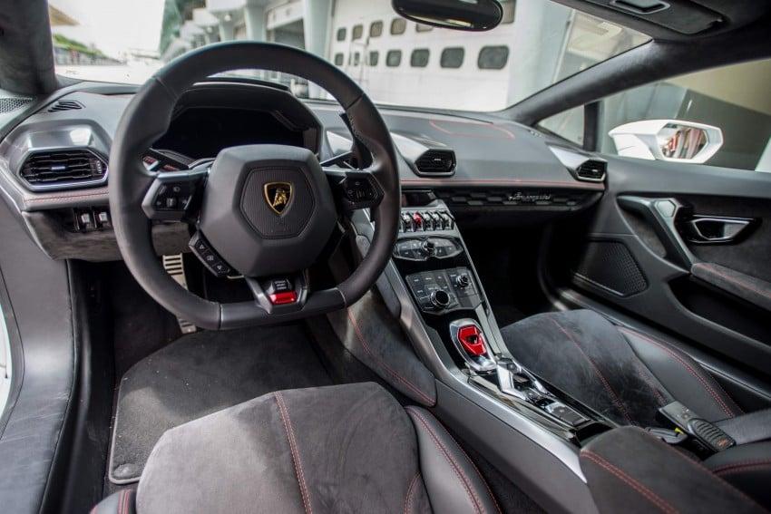 DRIVEN: Lamborghini Huracan LP 610-4 at Sepang Image #292855