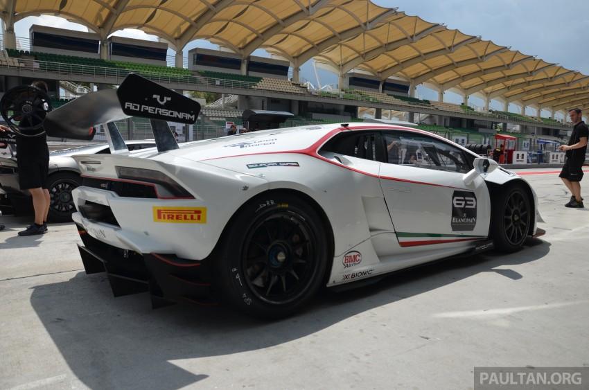 DRIVEN: Lamborghini Huracan LP 610-4 at Sepang Image #292859