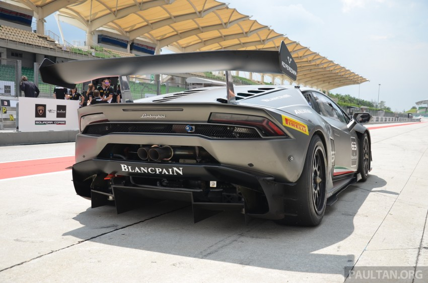 DRIVEN: Lamborghini Huracan LP 610-4 at Sepang Image #292862