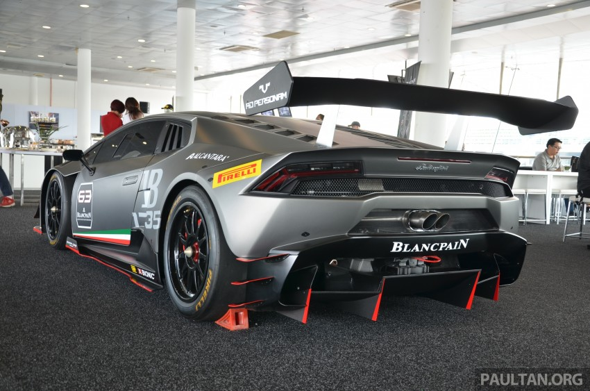 DRIVEN: Lamborghini Huracan LP 610-4 at Sepang Image #292864