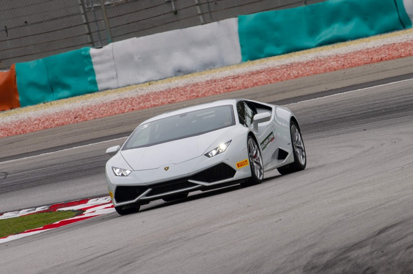 DRIVEN: Lamborghini Huracan LP 610-4 at Sepang Image #292842