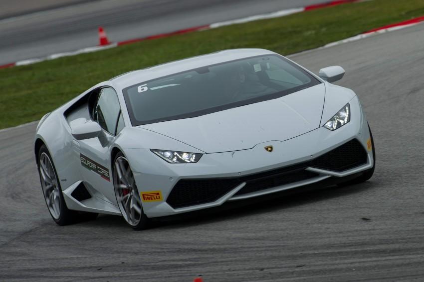 DRIVEN: Lamborghini Huracan LP 610-4 at Sepang Image #292846