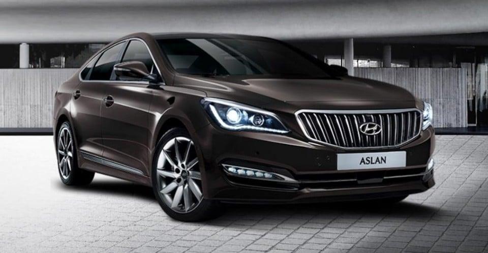 Hyundai Aslan luxury sedan launched in South Korea Paul ...