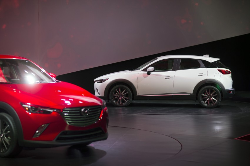 Mazda CX-3 – new B-segment SUV officially unveiled Image #289536