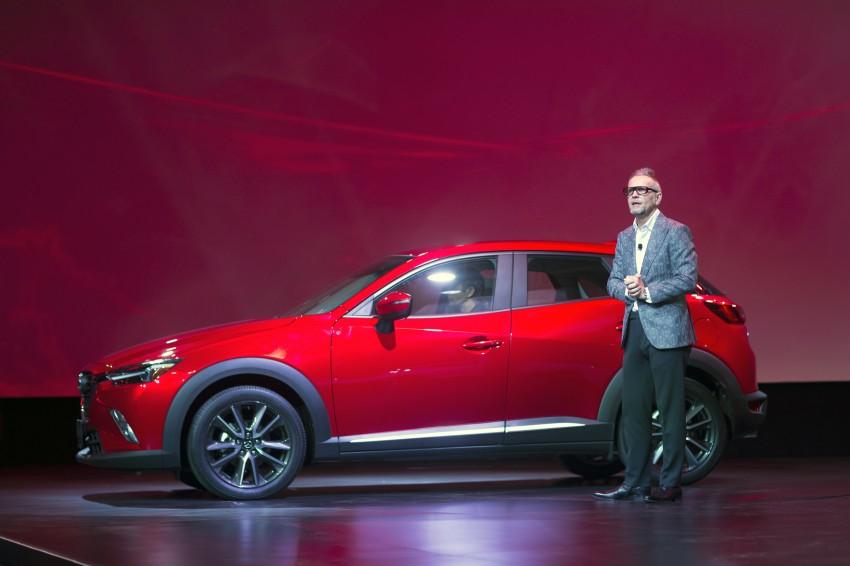 Mazda CX-3 – new B-segment SUV officially unveiled Image #289533