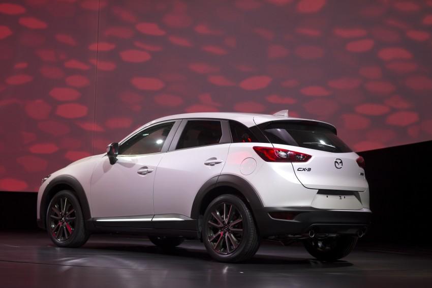 Mazda CX-3 – new B-segment SUV officially unveiled Image #289534