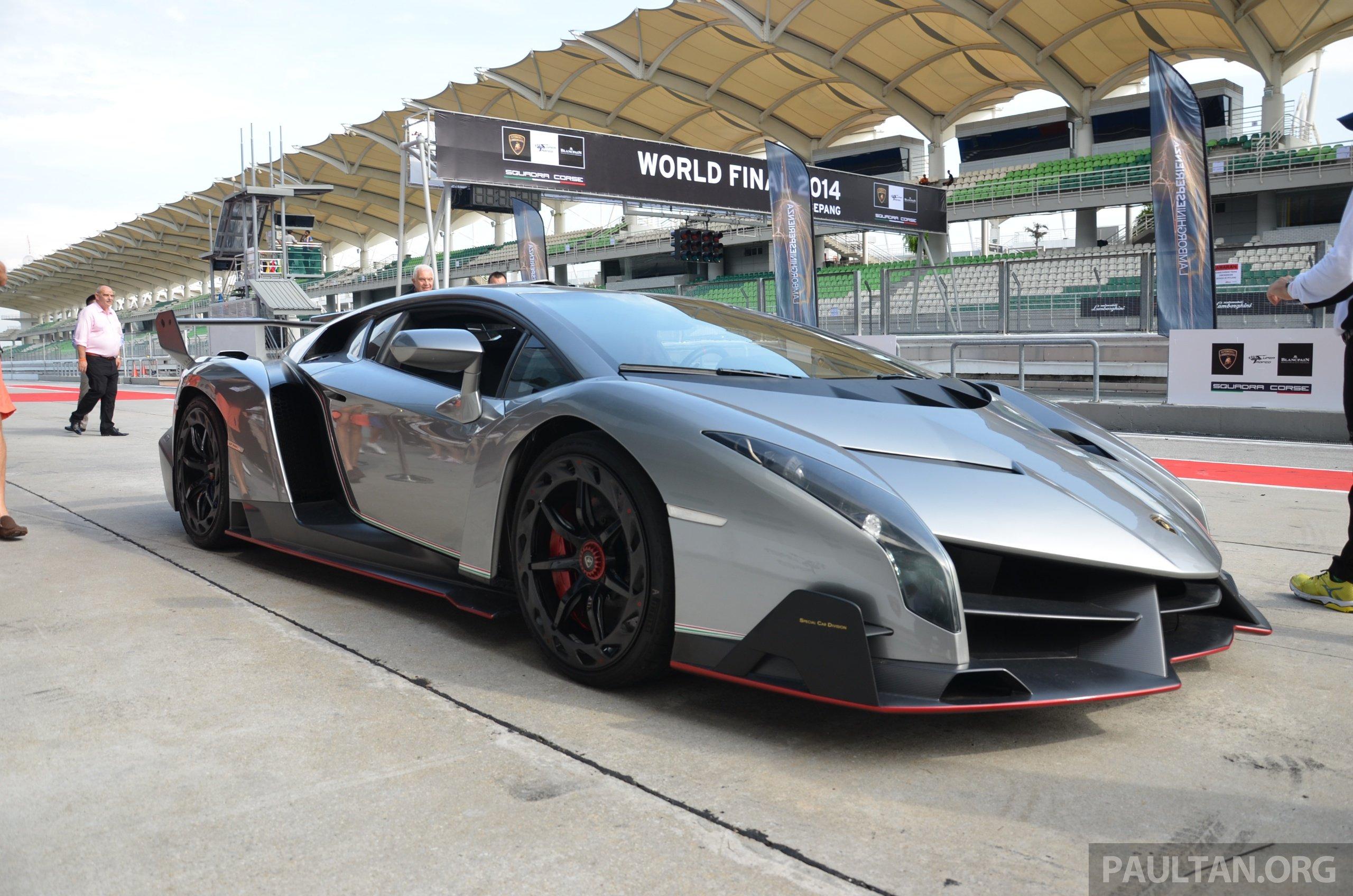 Lamborghini Veneno Makes An Appearance At Sepang Paul Tan