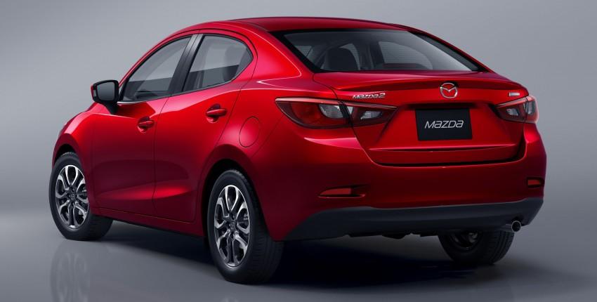 Mazda 2 Sedan – first photos out, full reveal next week Image #290184