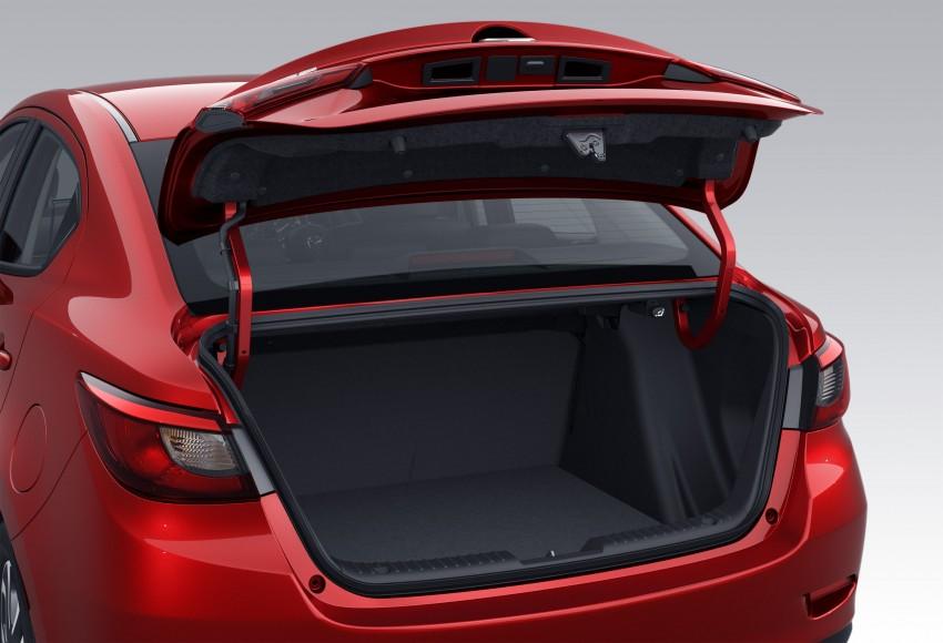 Mazda 2 Sedan – first photos out, full reveal next week Image #290186