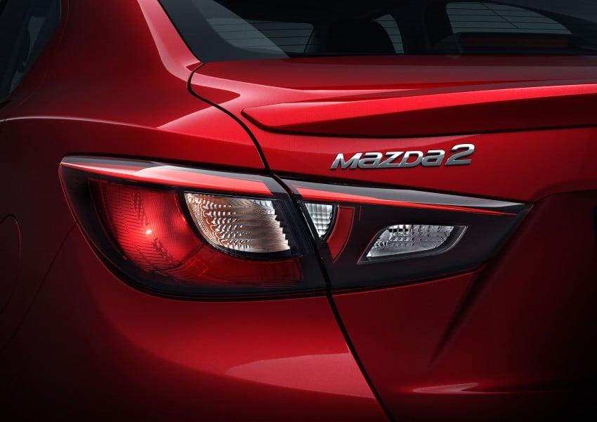 Mazda 2 Sedan – first photos out, full reveal next week Image #290187