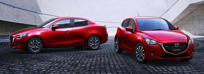 Mazda 2 Sedan – first photos out, full reveal next week Image #290180