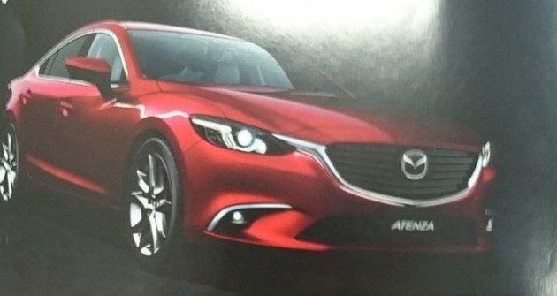 Mazda 6 Facelift Leaked 0002