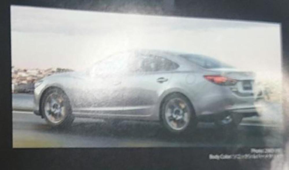 Mazda 3 Forum >> Mazda 6 facelift leaked on French automotive forum Paul Tan - Image 284868