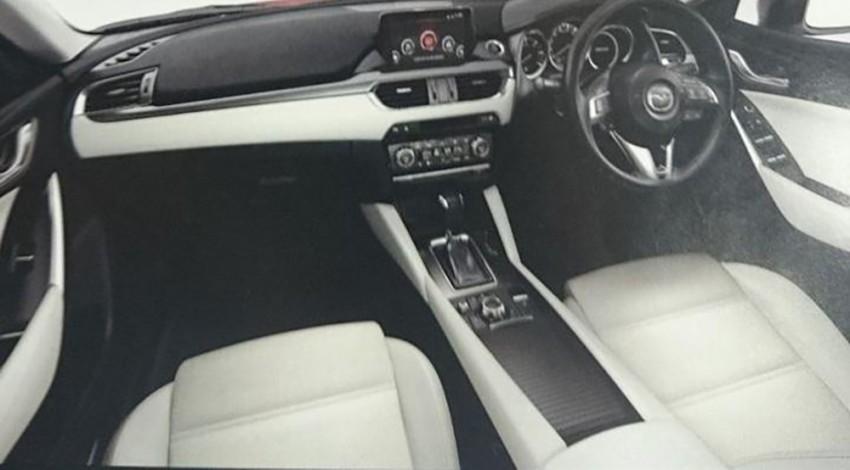 Mazda 6 facelift leaked on French automotive forum Image #284869