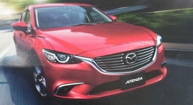 Mazda 6 Facelift Leaked 0008