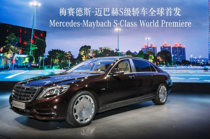 Mercedes-Maybach S 600 – all about the wheelbase! Image #290724