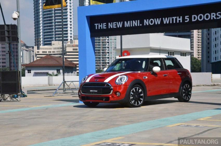 Mini Cooper 2018 >> MINI 5 Door launched in M'sia – Cooper S, RM238,888 Image 287449