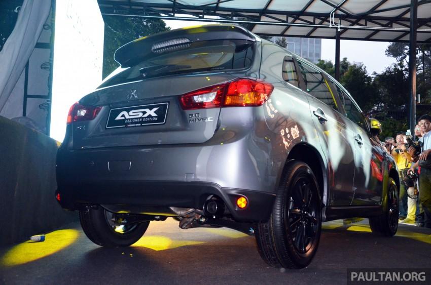 Mitsubishi ASX Designer Edition – 180 units, RM132k Image #286013