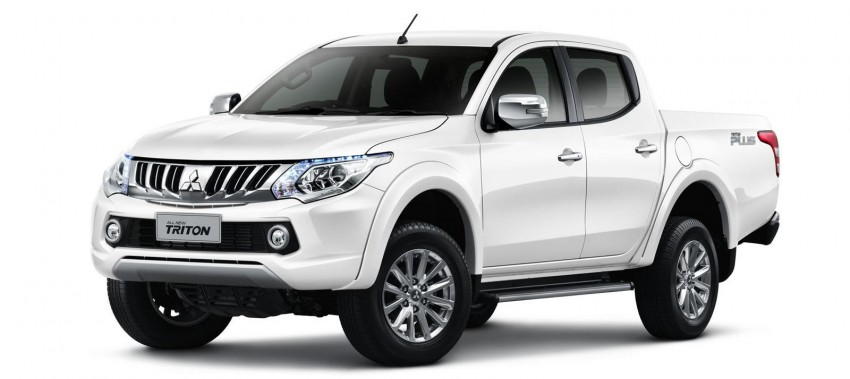 2015 Mitsubishi Triton Unveiled Gets New 2 4l Engine
