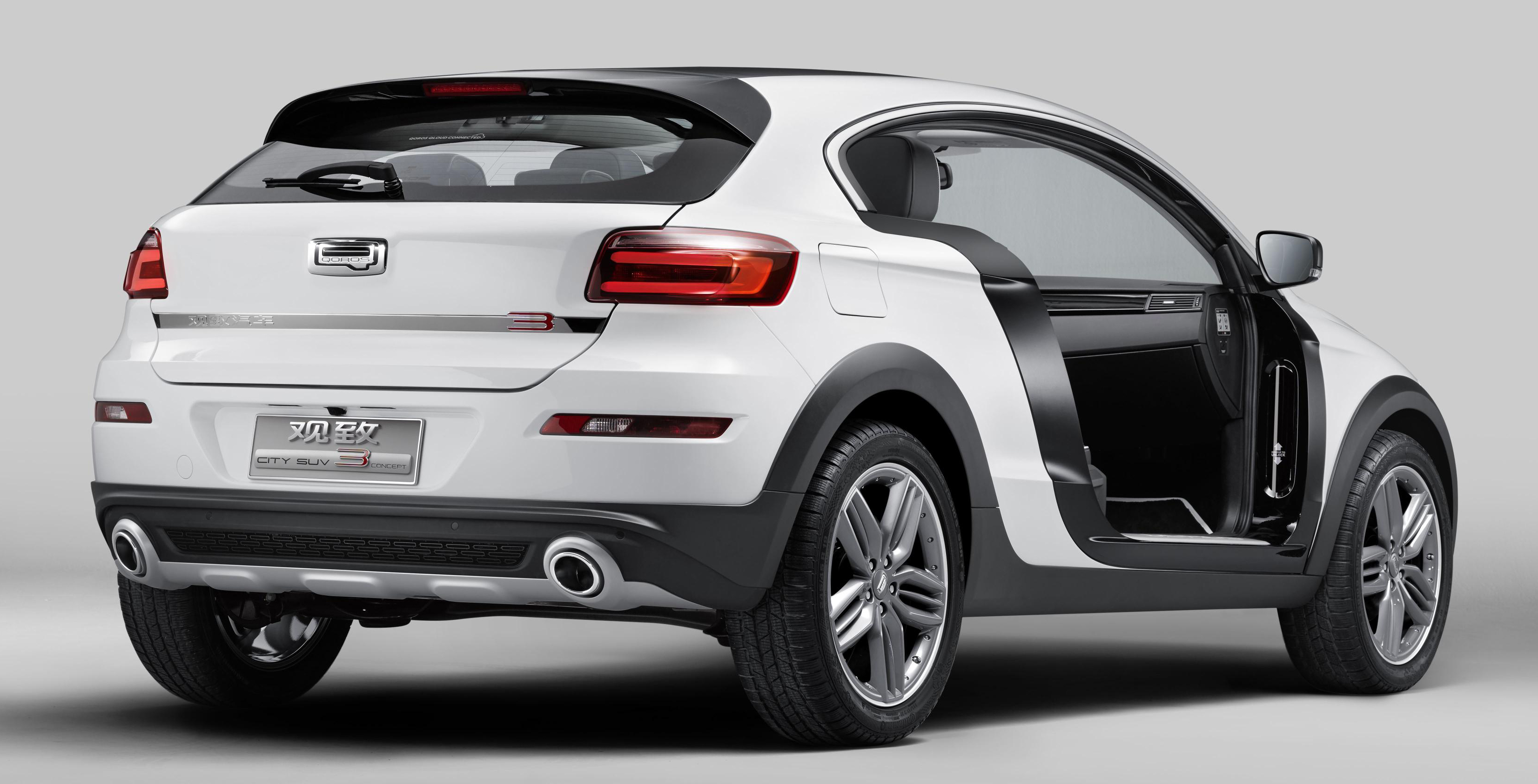 Qoros 3 City Suv 1 6t Makes Debut In Guangzhou Image 290080