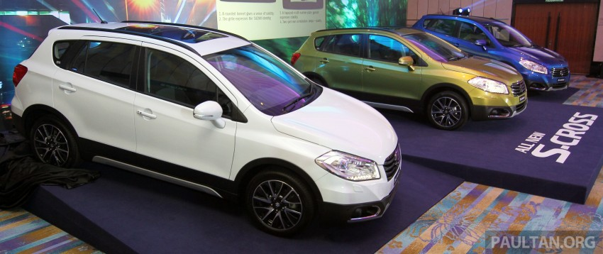 Suzuki S-Cross launched in Malaysia – 2WD, RM130k Image #289803