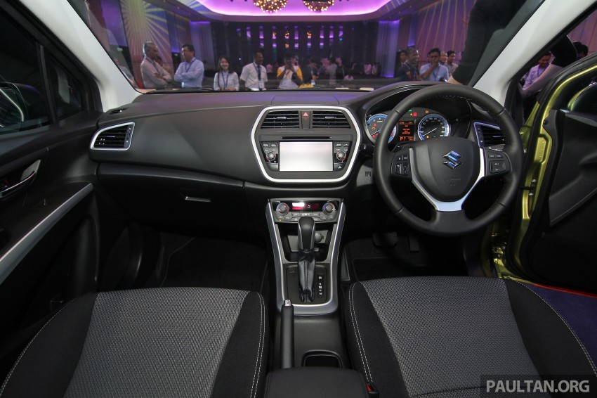 Suzuki S-Cross launched in Malaysia – 2WD, RM130k Image #289824