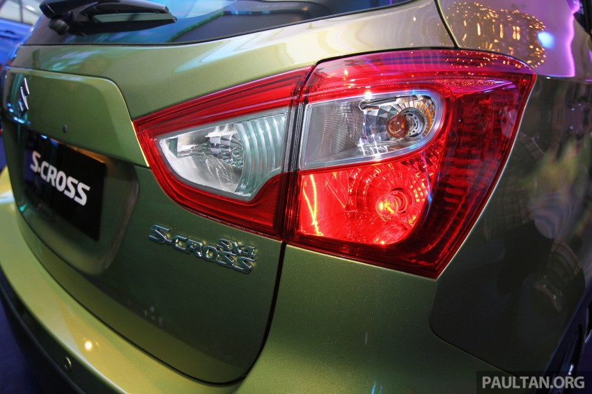 Suzuki S-Cross launched in Malaysia – 2WD, RM130k Image #289840