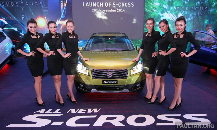 Suzuki S-Cross launched in Malaysia – 2WD, RM130k Image #289843