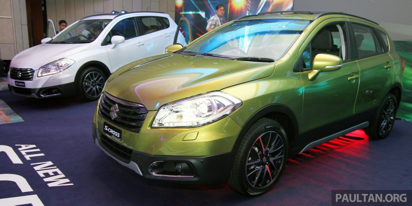 Suzuki S-Cross launched in Malaysia – 2WD, RM130k Image #289844
