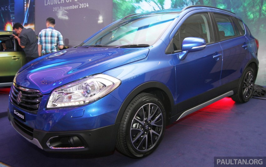 Suzuki S-Cross launched in Malaysia – 2WD, RM130k Image #289845