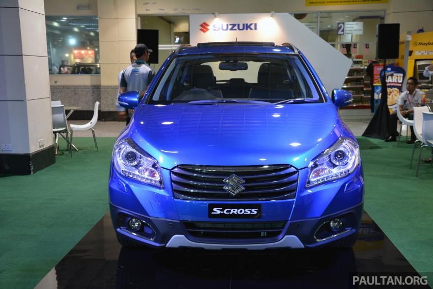 Suzuki S-Cross displayed at Matrade ahead of launch Image #288346