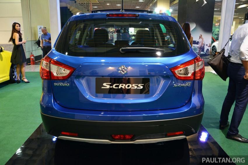 Suzuki S-Cross displayed at Matrade ahead of launch Image #288355