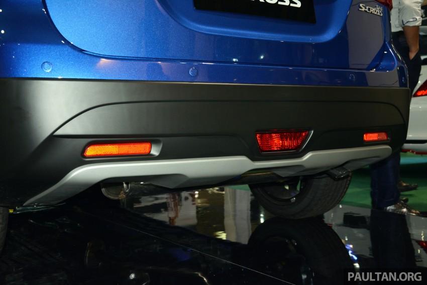 Suzuki S-Cross displayed at Matrade ahead of launch Image #288356