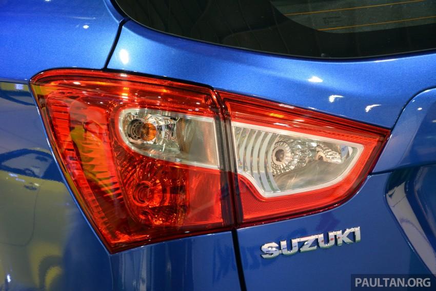 Suzuki S-Cross displayed at Matrade ahead of launch Image #288357