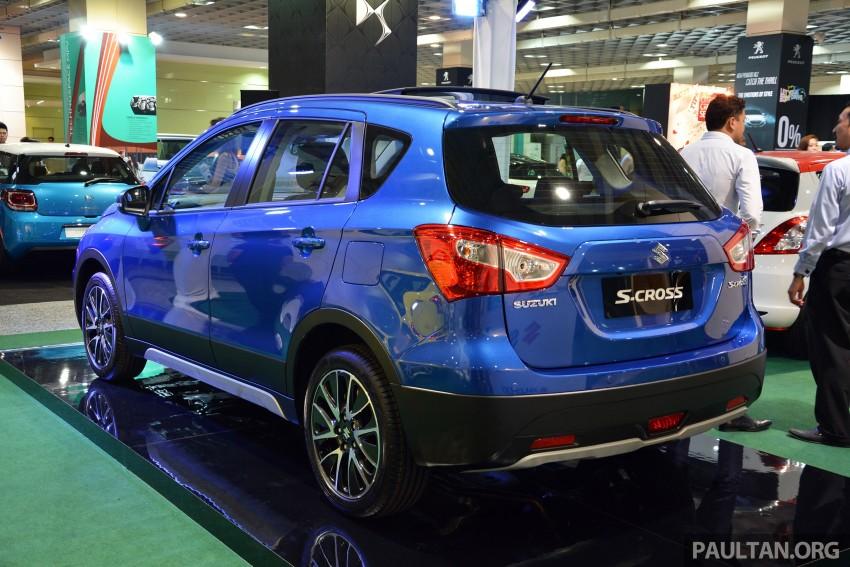 Suzuki S-Cross displayed at Matrade ahead of launch Image #288360