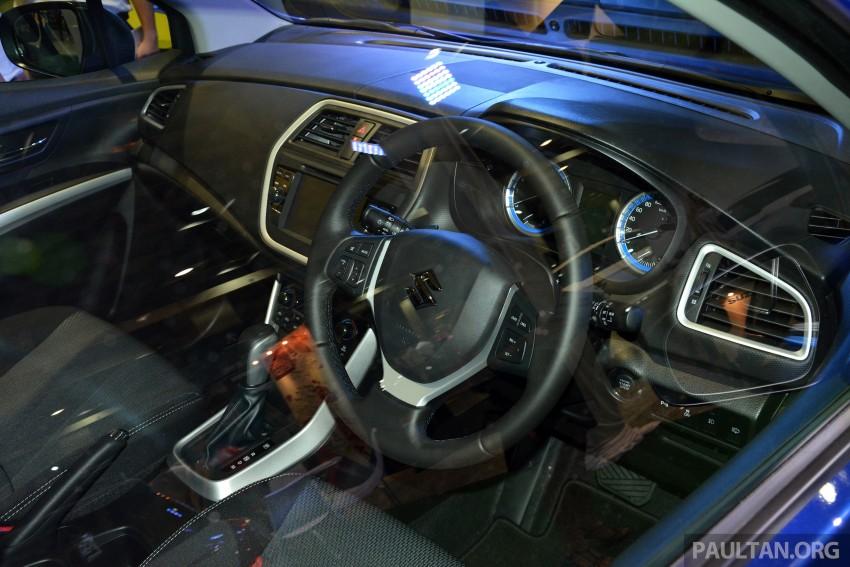 Suzuki S-Cross displayed at Matrade ahead of launch Image #288365