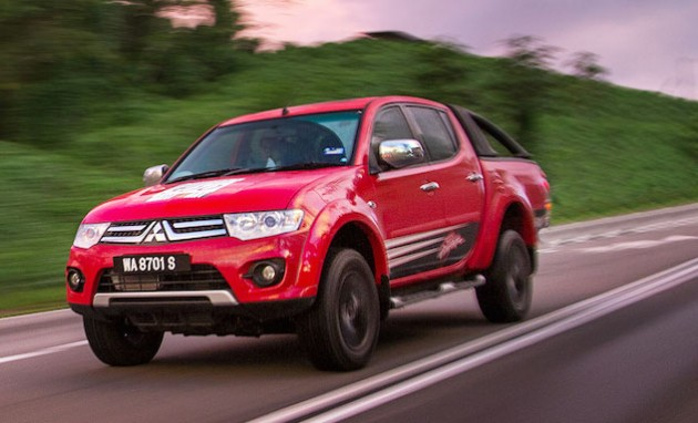 Mitsubishi Red Peak Goes To East Msia With Limited Edition
