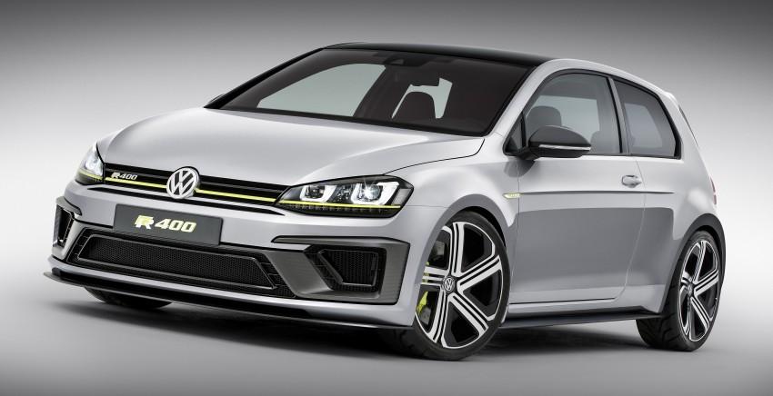 Volkswagen Golf R 400 confirmed for production? Image #287634