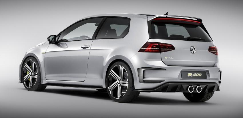 Volkswagen Golf R 400 confirmed for production? Image #287638