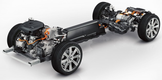 The all-new Volvo XC90 Twin Engine powertrain