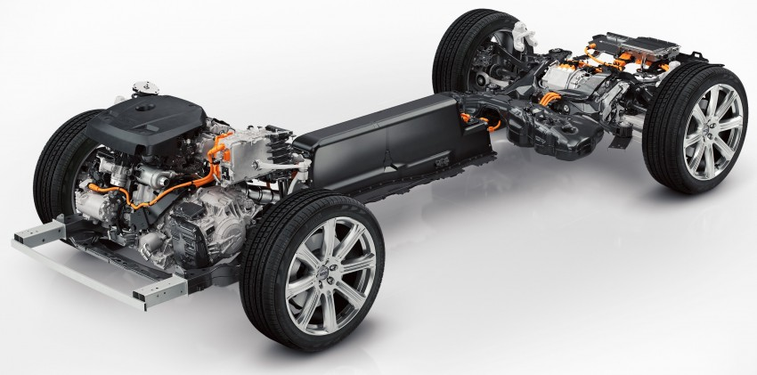 Volvo XC90 T8 plug-in hybrid detailed: 400 hp, 640 Nm Image #294852