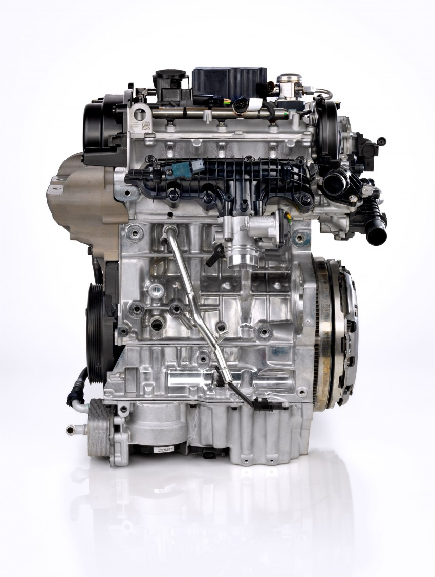 Volvo developing new three-cylinder turbo engine Image #295927