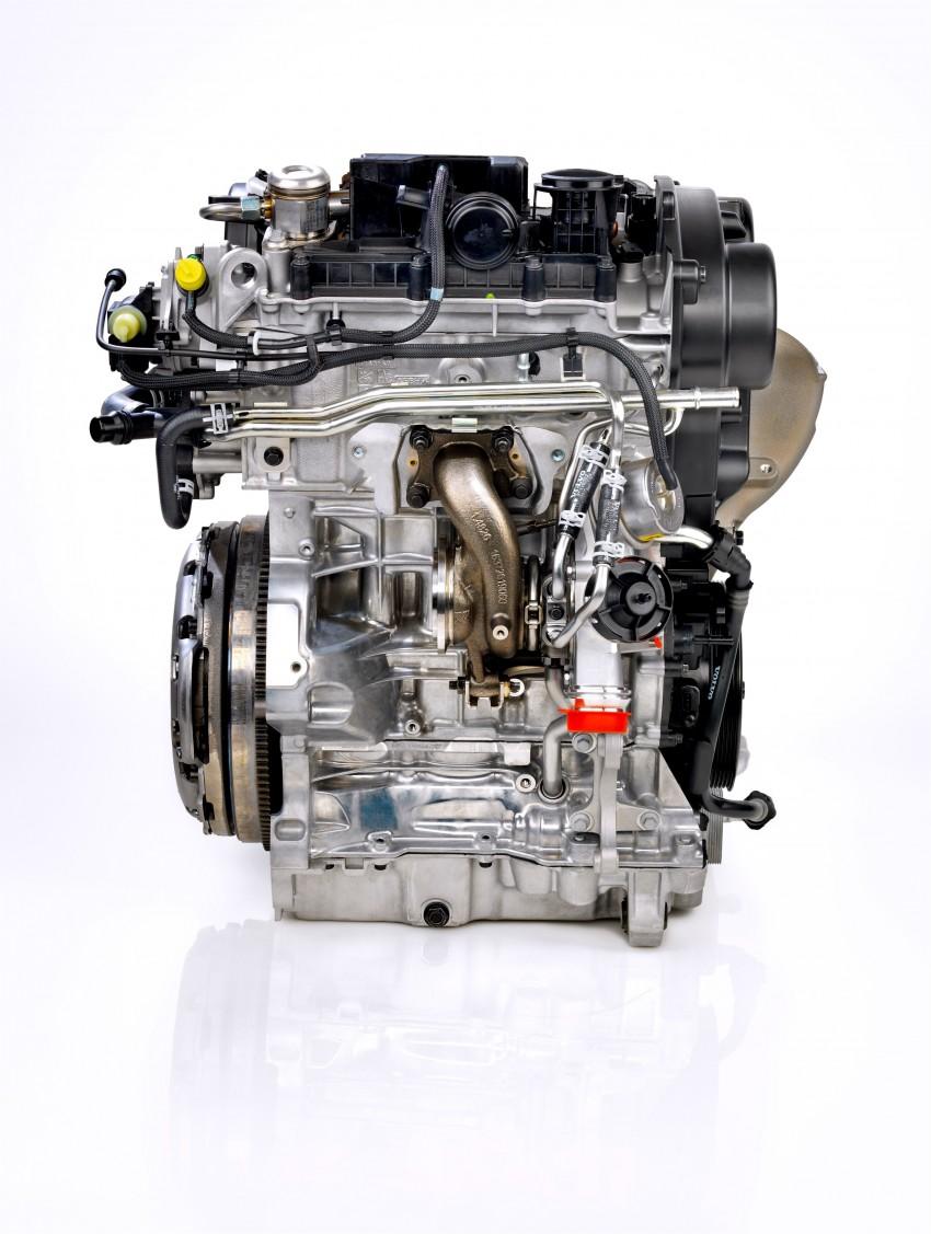 Volvo developing new three-cylinder turbo engine Image #295929