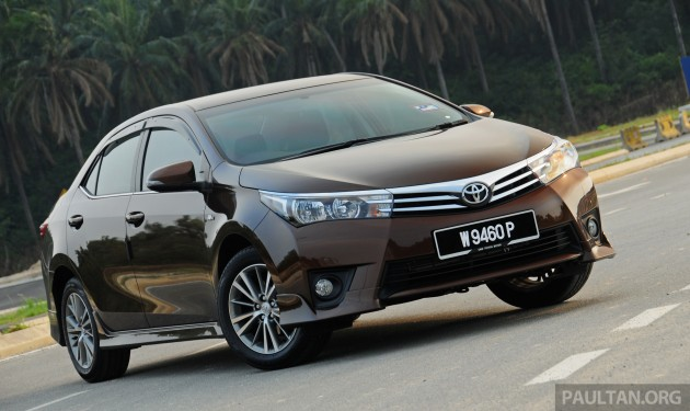 2015/2016 Toyota Corolla Altis, Lexus NX and RX recalled in Malaysia