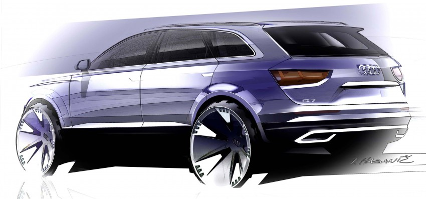 Audi Q7 – second generation 7-seater SUV debuts Image #295856