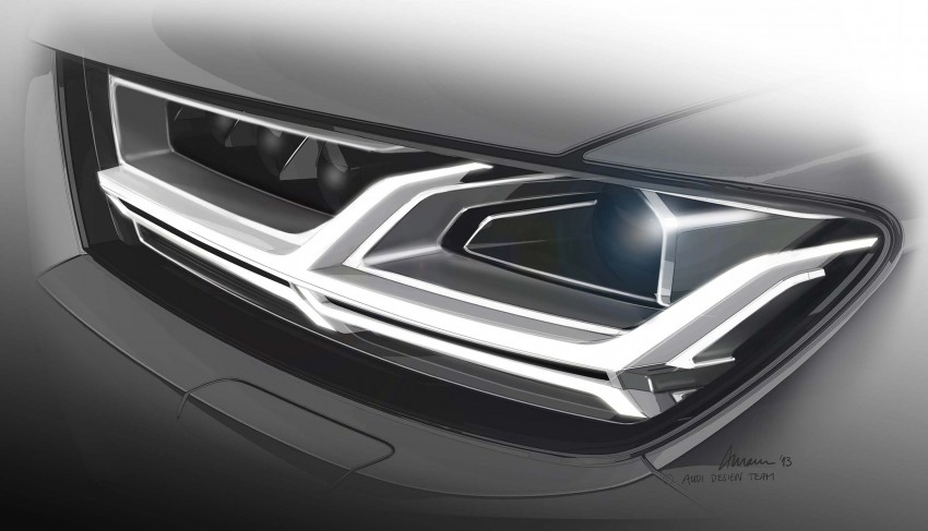 Audi Q7 – second generation 7-seater SUV debuts Image #295859