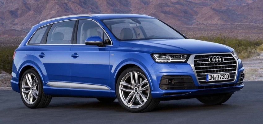 Audi Q7 – second generation 7-seater SUV debuts Image #295871