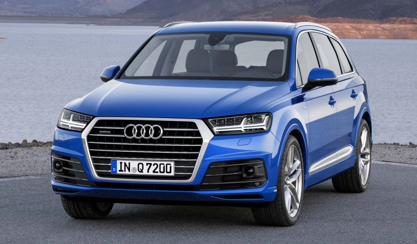 Audi Q7 – second generation 7-seater SUV debuts Image #295872