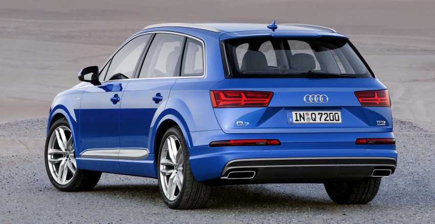 Audi Q7 – second generation 7-seater SUV debuts Image #295873
