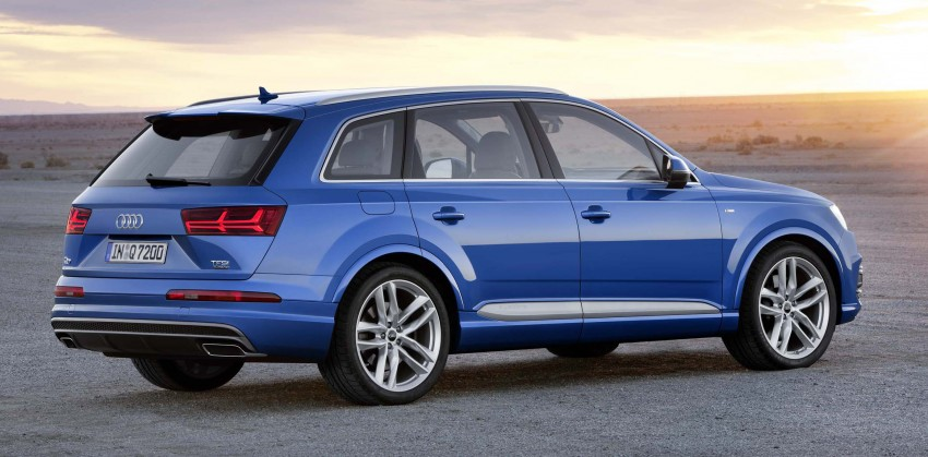 Audi Q7 – second generation 7-seater SUV debuts Image #295874